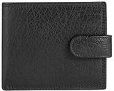 John Lewisbifold Tab Katta Aniline Leather Wallet, Black