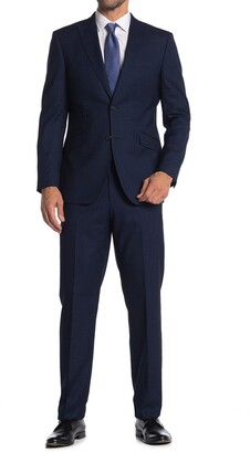 English Laundry Twill Two Button Notch Collar Suit