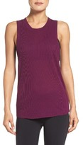 Alo Women's 'Heat Wave' Ribbed Muscle Tee