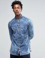 Tommy Hilfiger Acid Indigo Shirt in Regular Fit