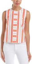 Draper James Lacey Stripe Top