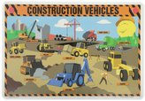 Painless Learning Construction Vehicles Placemat