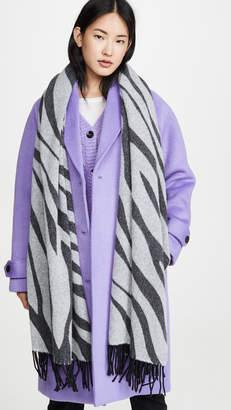 Rag & Bone Oversized Zebra Scarf
