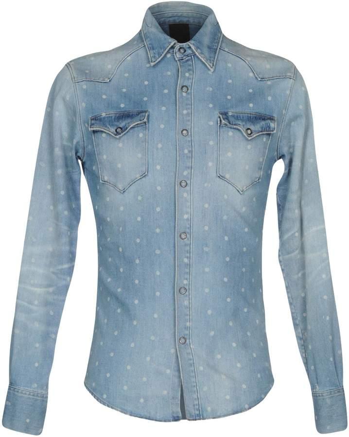 (+) People + PEOPLE Denim shirts - Item 42610778