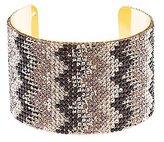 Charlotte Russe Chevron Rhinestone Cuff Bracelet