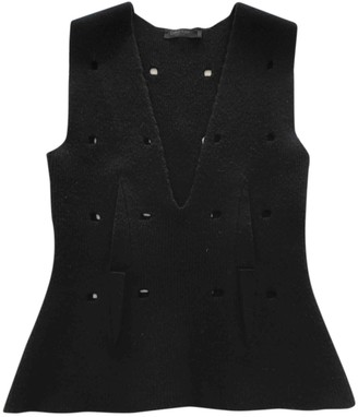 Calvin Klein Collection Black Wool Knitwear for Women