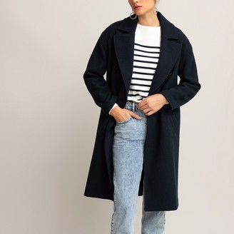 La Redoute Collections Double-Breasted Coat