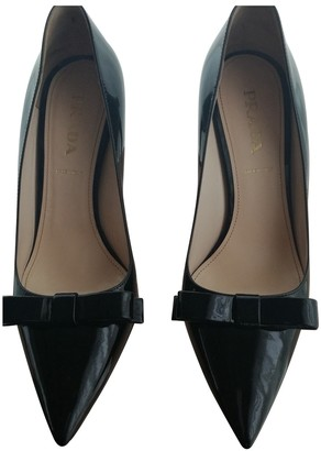 Prada Black Patent leather Heels