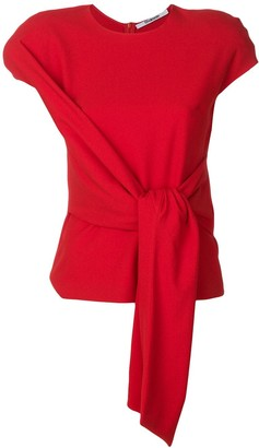 Chalayan Tie-Front Blouse