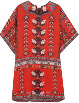 Isabel Marant Sully printed modal mini dress