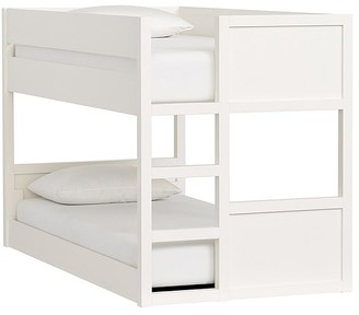 Pottery Barn Kids Camden Twin-over-Twin Low Bunk Bed