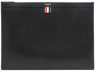 Thom Browne Logo Laptop Holder
