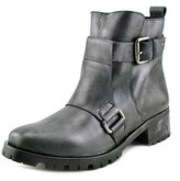 Andre Assous Bethany Women Round Toe Leather Motorcycle Boot.