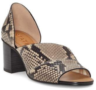 1 STATE 1.State Gretta Leather Block Heel Pump