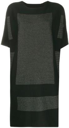 Issey Miyake short-sleeve T-shirt dress