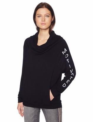good hYOUman Women's Bailey Cowl Neck Sweatshirt