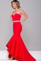 Jovani Strapless High Low Dress JVN41956