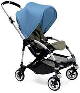 Bugaboo Bee3 Stroller - Ice Blue - Dark Khaki - Aluminum by