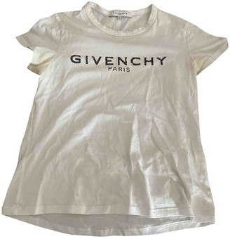 Givenchy White Cotton Tops