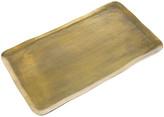 Pols Potten Antique Brass Rectangular Platter