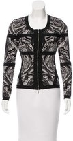Robert Rodriguez Stretch Knit Patterned Jacket