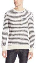 Calvin Klein Jeans Men's Mini Stripe Pocket Crew