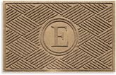"Bed Bath & Beyond Weather GuardTM Diamonds Monogrammed ""E"" 23-Inch x 35-Inch Door Mat"