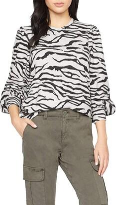 Sanctuary Wild Love Tee (Heather Zebra) Women's Clothing