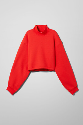 Weekday Alysia Sweatshirt - Black