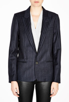 Vanessa Bruno Marine Pinstripe Blazer