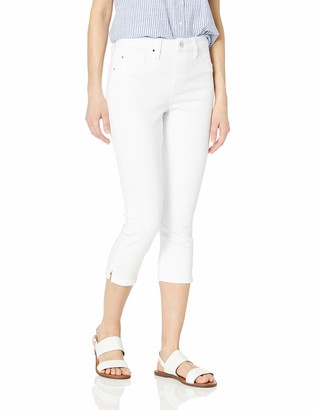 Laurie Felt Women's Silky Denim Capri Pull-On Jeans