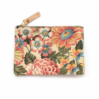 General Knot & Co Vintage Cornwall Floral Zipper Pouch