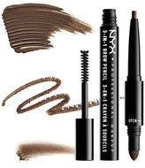 NYX (3 Pack 3-In-1 Brow Pencil - Espresso