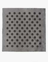 Mhl. Polka Dot Scarf in Grey/Black