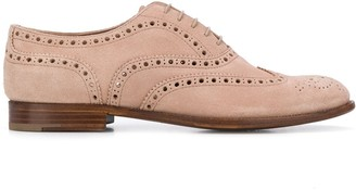Church's suede Burwood brogues