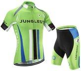 Men's cycling jersey and shorts set ,short sleeve ,JUNGLEST (CA)M=(CN)XL