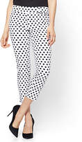 New York & Co. The Audrey Crop Pant - Dot Print