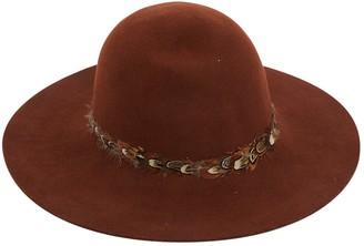 soeur Brown Wool Hats