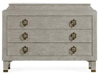 Jonathan Charles Fine Furniture 3 Drawers Standard Dresser Color: Gray Oak