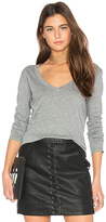Bobi Light Weight Jersey Pocket Long Sleeve Top