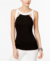 INC International Concepts Cutout Halter Top, Only at Macy's