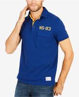Nautica Men's Ns-83 Embroidered Applique Polo