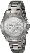 Invicta Women's 'Wildflower' Quartz Stainless Steel Casual Watch, Color:Silver-Toned (Model: 21730)
