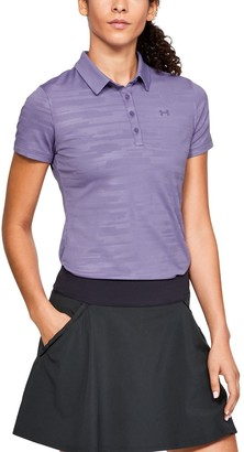 Under Armour Women's UA Zinger Short Sleeve Novelty Polo