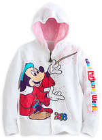 Disney Sorcerer Mickey Mouse and Friends Zip Hoodie for Girls - Walt World 2016