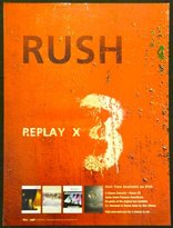 Rush Replay X3 - Rare Advertising Poster 18x24