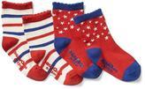 Stars & stripes socks (2-pairs)