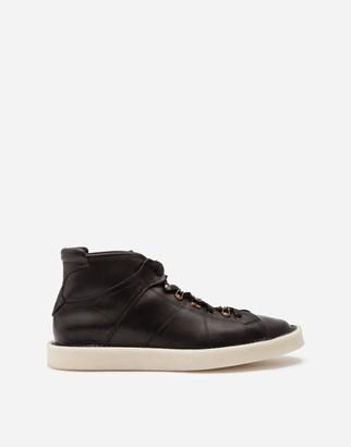 Dolce & Gabbana Calfskin Nappa Modigliani Ankle Boots