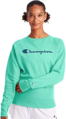 Champion Women's Powerblend Fleece Boyfriend Sweatshirt