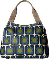 Orla Kiely Love Birds Print Classic Zip Shoulder Bag Shoulder Handbags